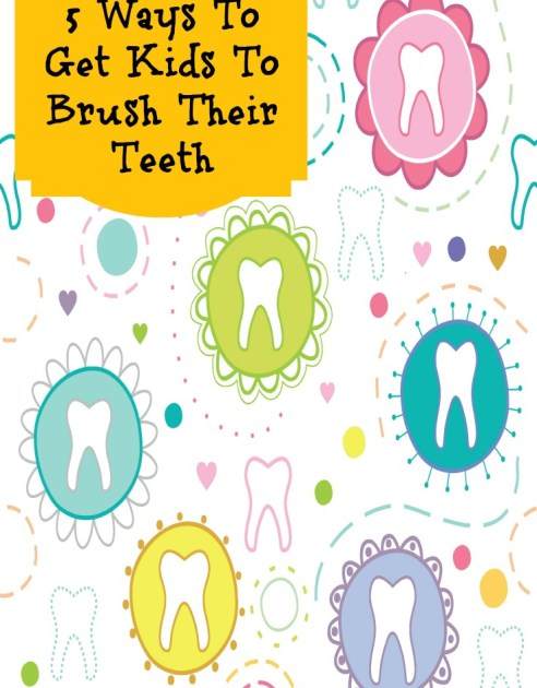 5 Ways To Get Kids To Brush Their Teeth