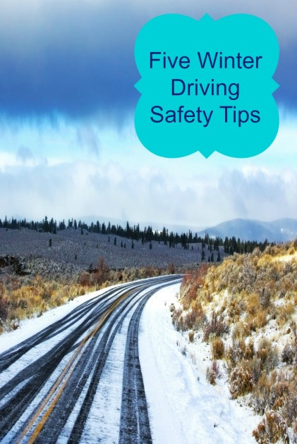 Five Winter Driving Safety Tips