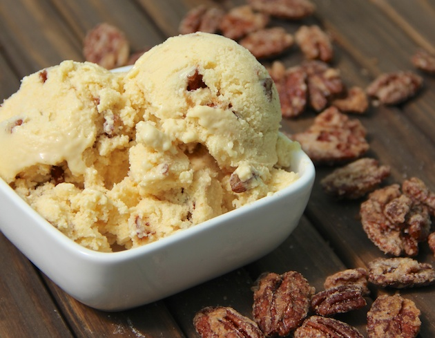 Butter Pecan Ice Cream Lactose Free