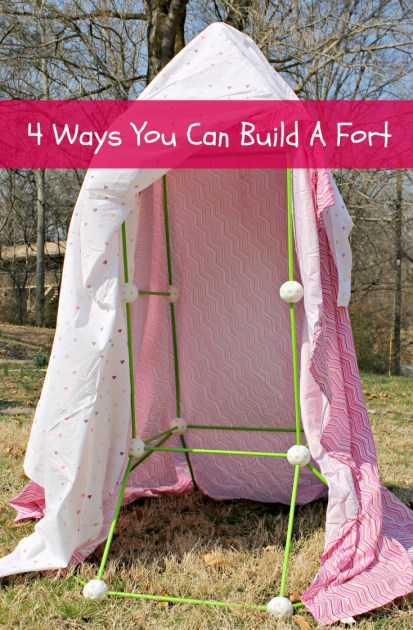 4 Ways You Can Build A Fort