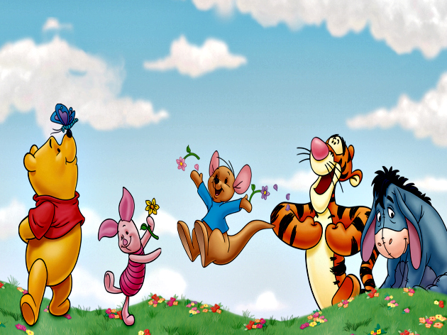 Hop Into Spring With Winnie The Pooh and Roo