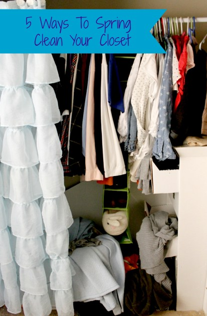 5 Ways To Spring Clean Your Closet