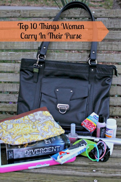 Top 10 Things Women Carry In Their Purse