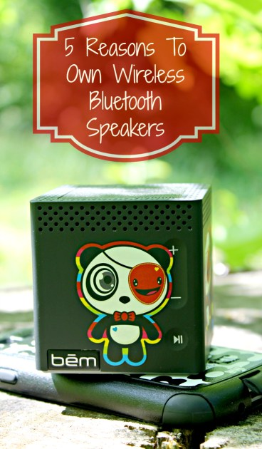 5 Reasons To Own Wireless Bluetooth Speakers Pin