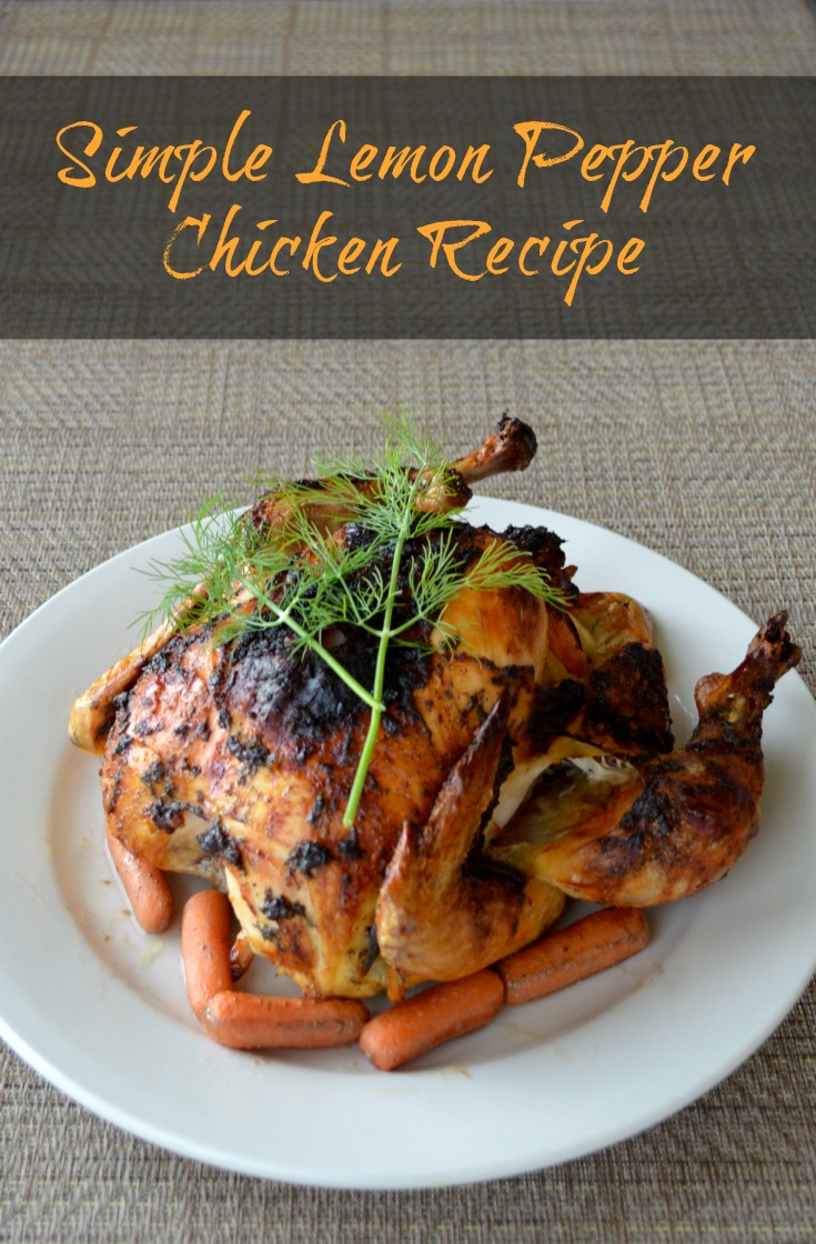 Simple Lemon Pepper Chicken Recipe #goodcookcom