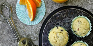 Vegan Orange Cranberry Muffins