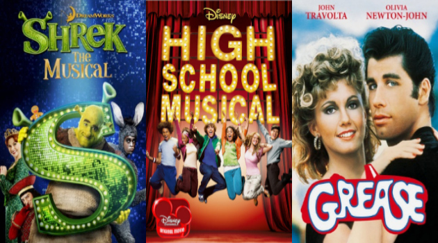 Movies Made Into Musicals