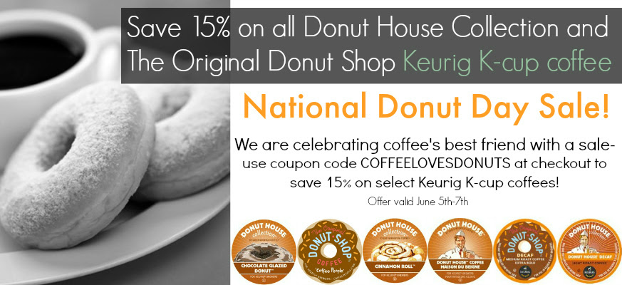 National Donut Day Coffee Sale!