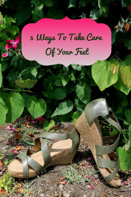5 Ways To Take Care Of Your Feet