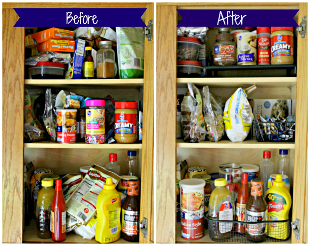5 Steps To Organized Kitchen Cabinets