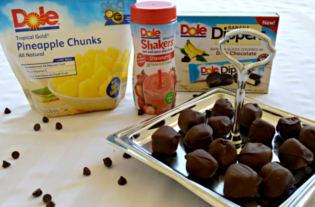 Spicy Chocolate Covered Pineapple