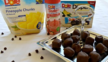 chocolate covered dole pineapple