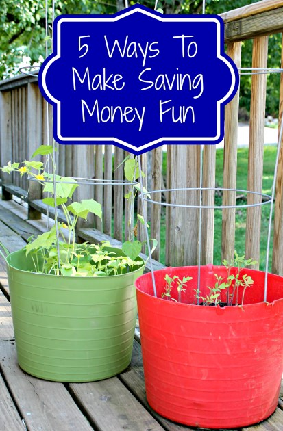 5 ways to make saving money fun
