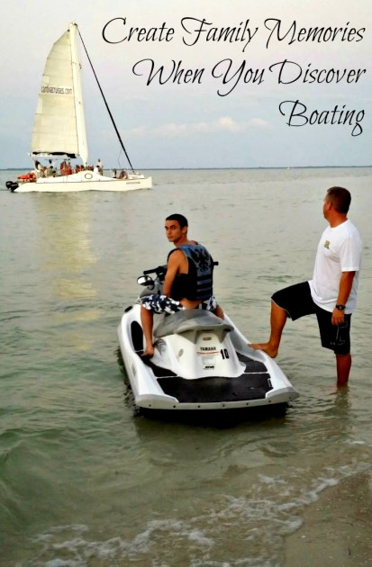 create family memories when you discover boating jetski