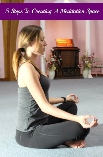 5 Steps To Creating A Meditation Space pin