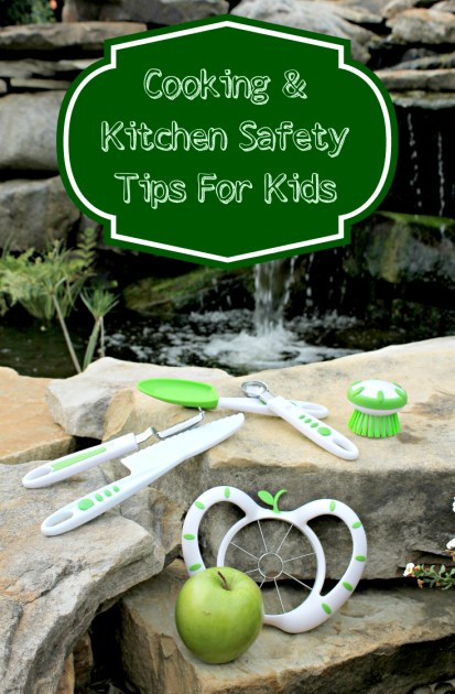 Cooking and Kitchen Safety Tips for Kids