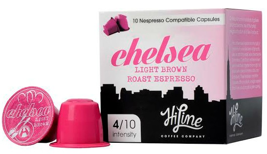 Free Box Of Nespresso Hiline Coffee Capsules!