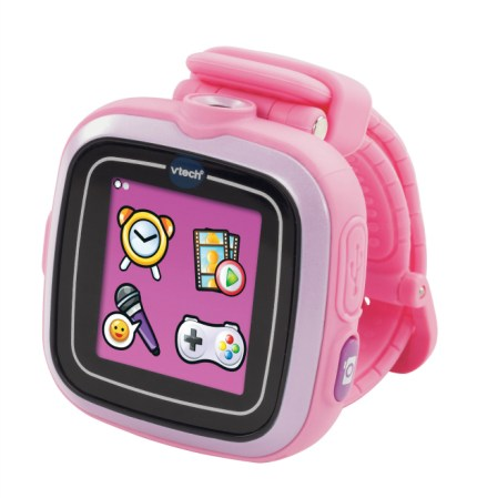 toddlers and technology pink watch
