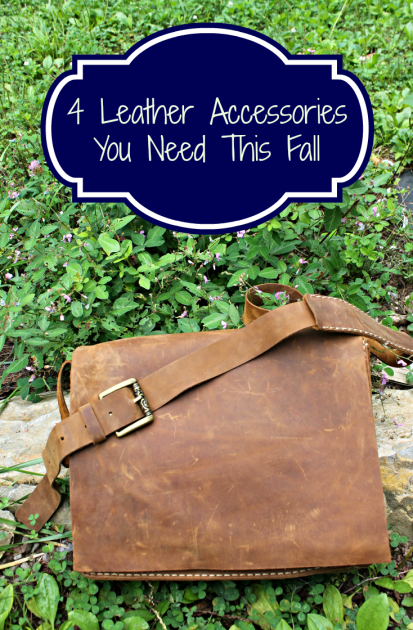 4 Leather Accessories You Need This Fall pin