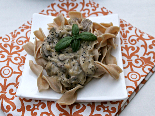 Beef Stroganoff With Whole Wheat Pasta Recipe