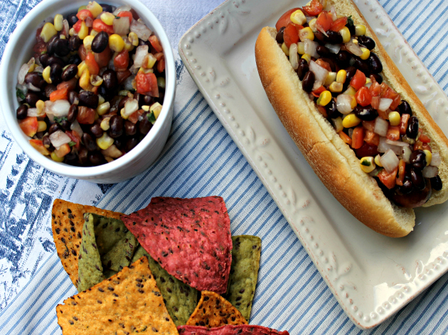 Spicy Corn And Black Bean Salsa
