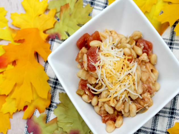 Game Day White Chicken Chili Recipe #CansGetYouCooking