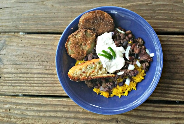 Game Day Food: Yellow Rice and Beans Recipe