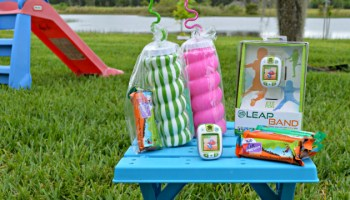 get kids outside with leapband