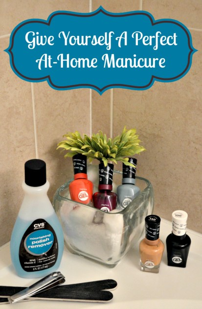 give a perfect at-home manicure