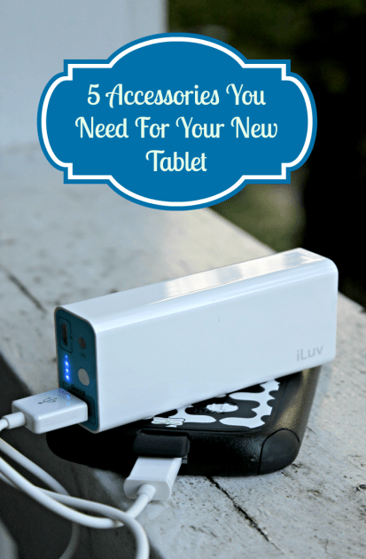 5 Accessories You Need For Your New Tablet