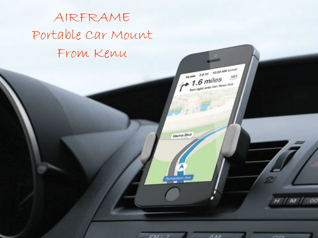 AIRFRAME portable car mount