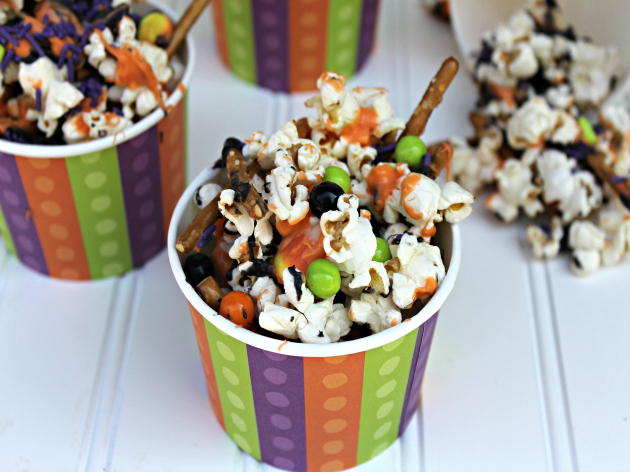 Monster Mash Halloween Popcorn Mix