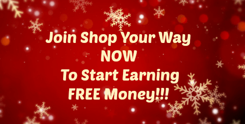 Shop Your Way Members Get $5! Join Now!!!