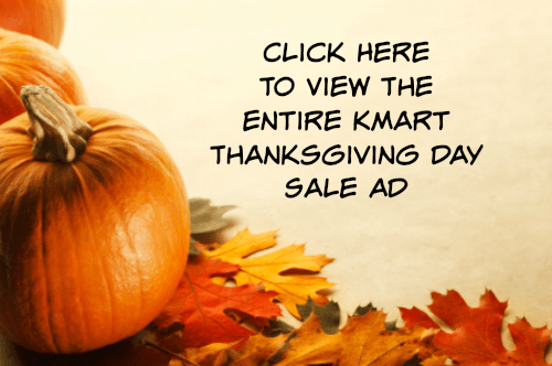 kmart Thanksgiving ad
