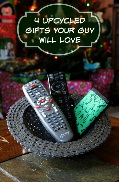 4 Upcycled Gifts Your Guy Will Love