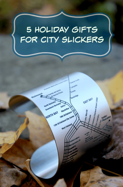 5 Holiday Gifts For City Slickers
