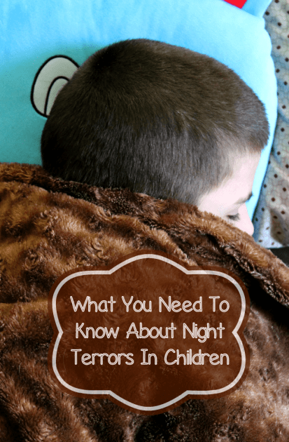 What You Need To Know About Night Terrors In Children