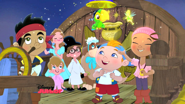 Save Wendy's Storybook In Jake and the Never Land Pirates: Battle for the Book