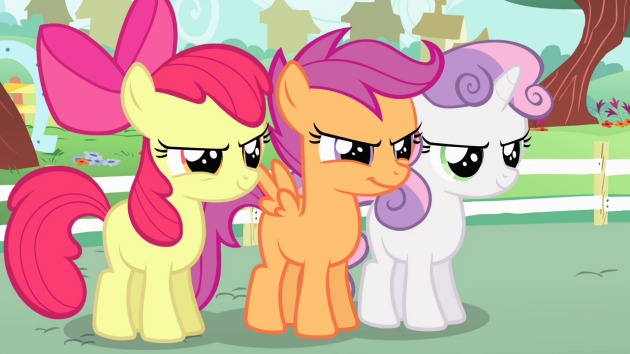 My Little Pony The Adventures Of The Cutie Mark Crusader Gallops Onto DVD 2/24