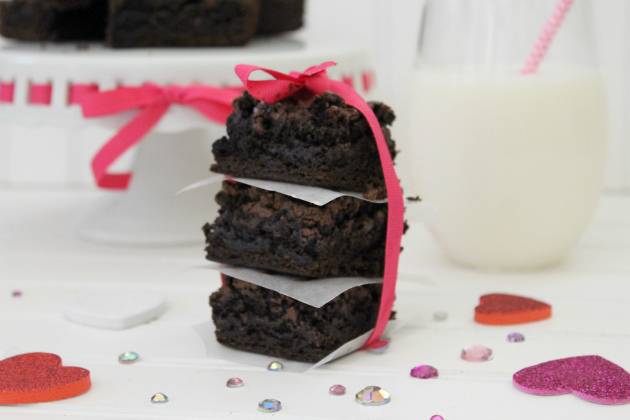 Good For You Triple Chocolate Brownies Recipe #AllWhitesEggWhites