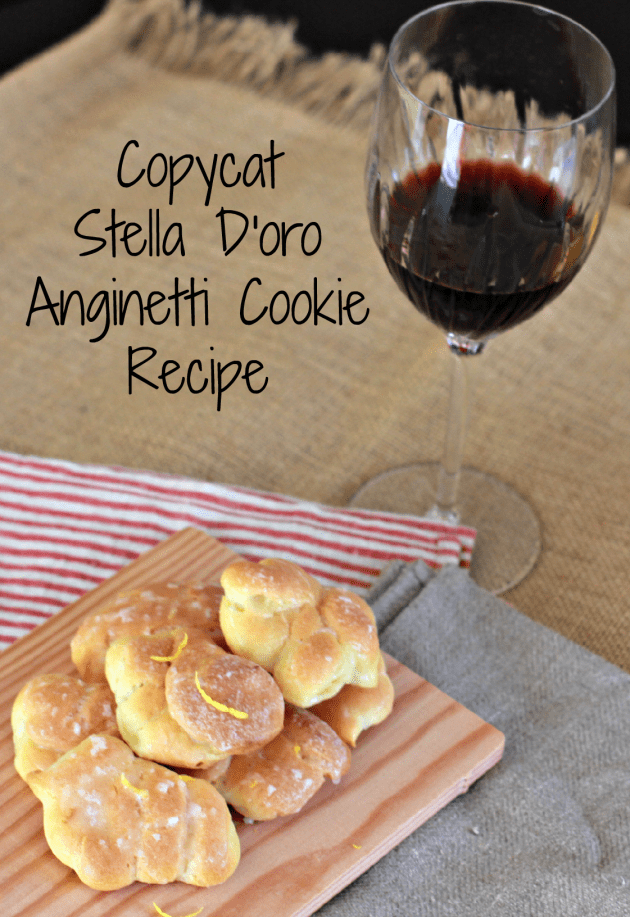 Copycat Stella D'oro Anginetti Cookie Recipe