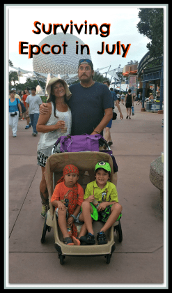 Surviving Epcot in July