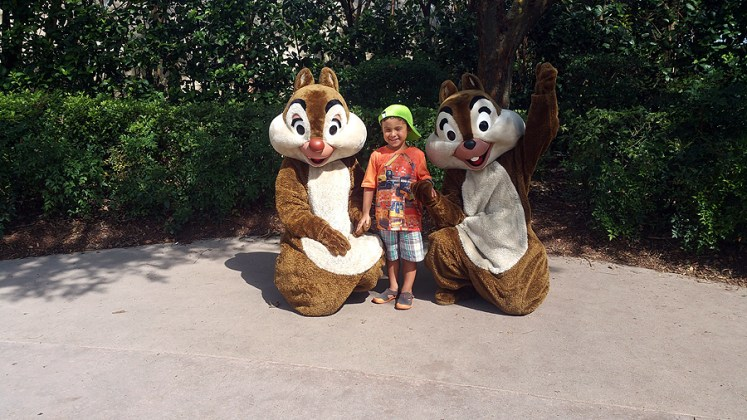 epcot chip and dale