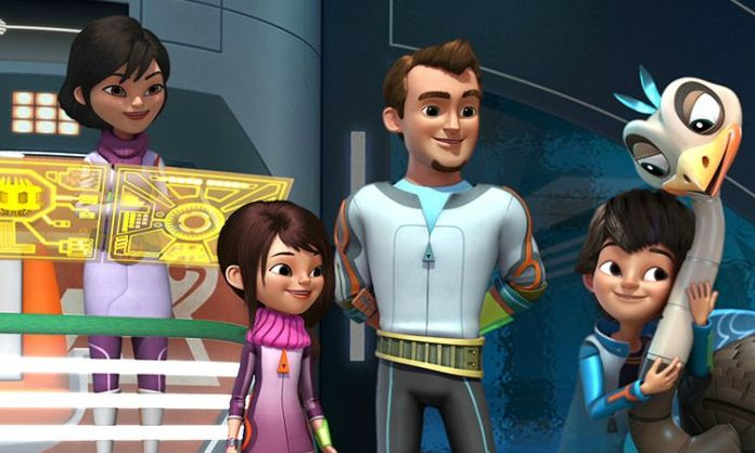 "MILES FROM TOMORROWLAND - ""Hiccup in the Plan"" (Disney Junior) PHEOBE, LORETTA, LEO, MILES, MERC"