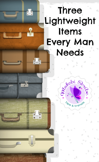 travel items men need
