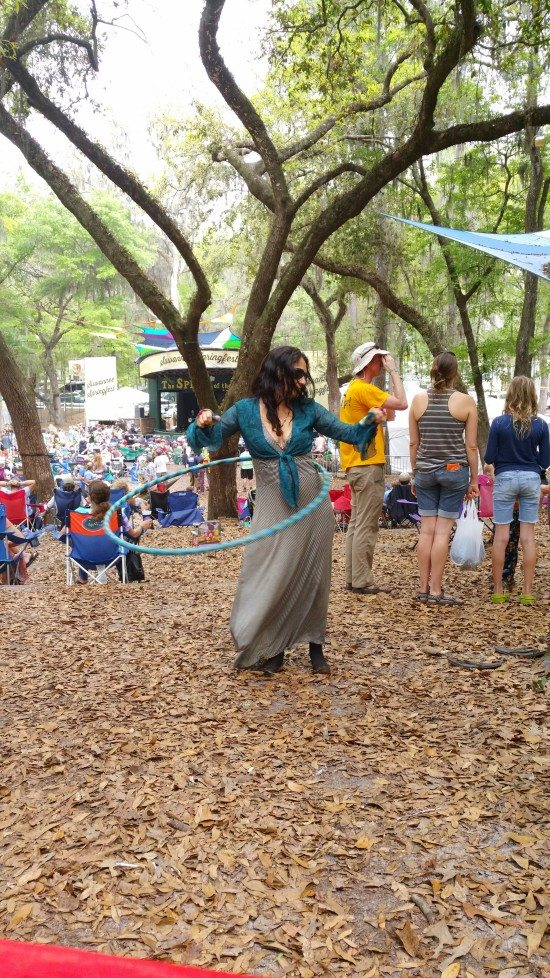 hulahooping springfest