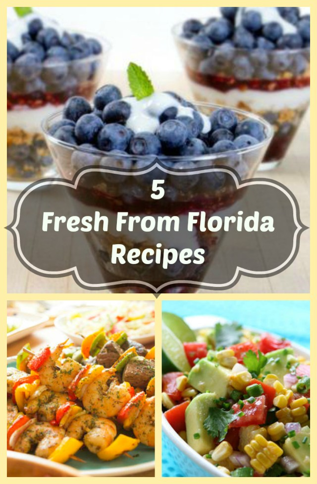 5 fresh from florida recipes