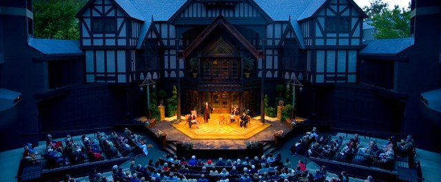Elizabethan England with the Shakespearean Festival