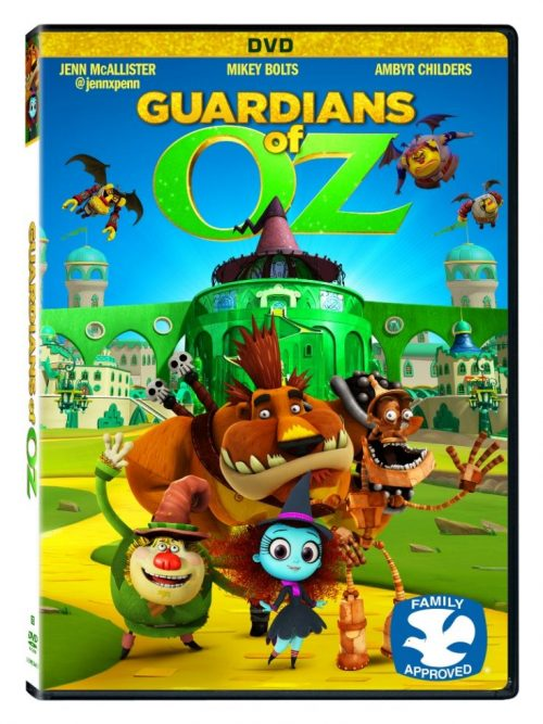 GUARDIANS OF OZ 3d DVD