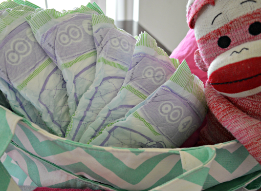 save money on diapers header